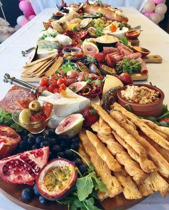 Tropical cheese spread from a 40th Birthday Tropical Soiree on Kara's Party Ideas | KarasPartyIdeas.com (25) (Cheese Ideas Party)