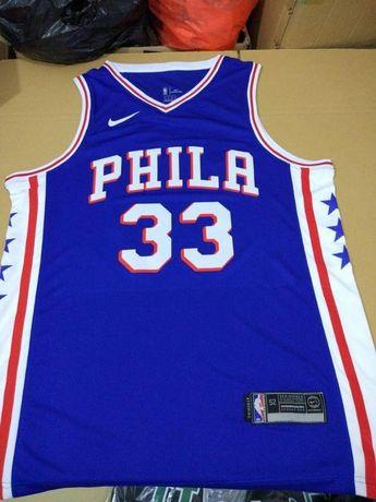 c3c89c802ee Men 33 Robert Covington Jersey Blue Philadelphia 76ers Jersey Swingman