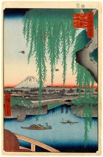 Андо Хиросигэ. «Сто видов Эдо»