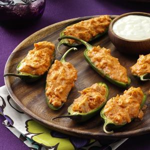Buffalo Wing Poppers