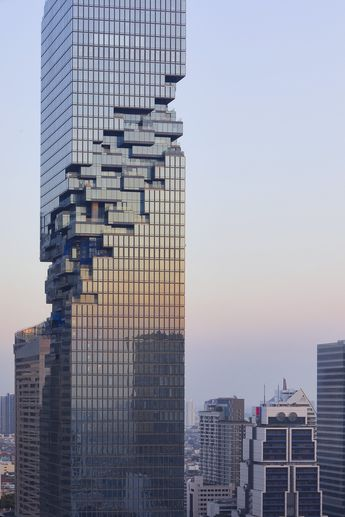 Gallery of Büro Ole Scheeren's MahaNakhon Tower, Photographed by Hufton + Crow - 15
