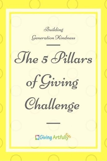 The 5 Pillars of Giving ~ Join the Challenge