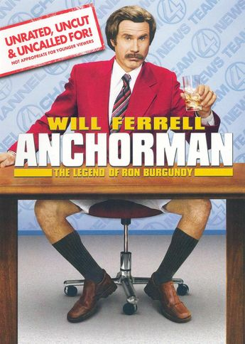 Anchorman: The Legend of Ron Burgundy [WS] [Unrated, Uncut & Uncalled For!] [DVD] [2004] - Best Buy