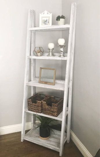 Ladder Shelf|Bookshelf