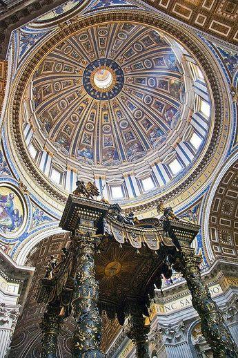 Basilique Saint Pierre. Vatican. Italie.