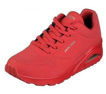 12a0f111126 Skechers Street Uno Stand On Air trainers have a retro look with modern  comfort. The