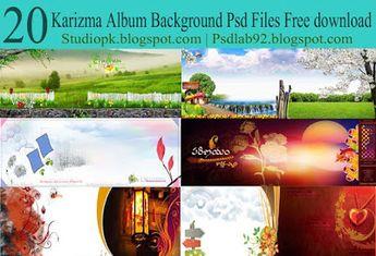 Wedding Album Background Design Psd Templates Download
