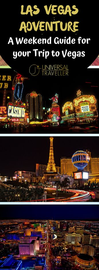 Weekend Itinerary for your Trip to Vegas - Must do in Vegas for first timers