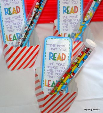 All things Seuss Spring Party Ideas