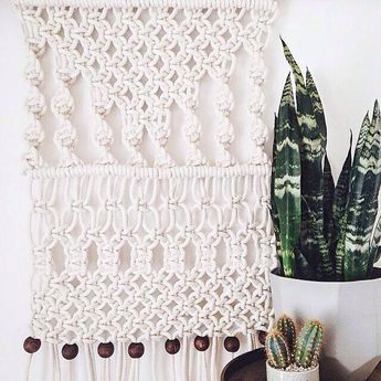 These beautiful macrame wall hangings are an exclusive in our brick & mortar.  Stop by 2523 3rd Ave, Seattle WA to grab your favorite!  photo & macrame by @chelseavirgina (at the Moorea Seal store)