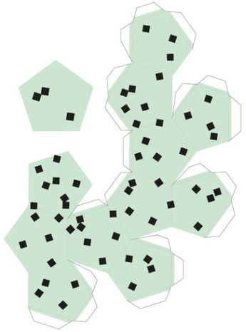 Moldes de Sorvetes de Papel em 3D para Imprimir