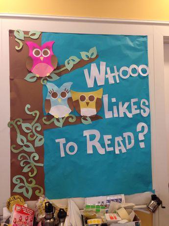 Owls bulletin board