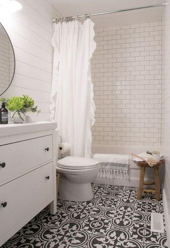 69 Stunning Farmhouse Bathroom Tiles Ideas