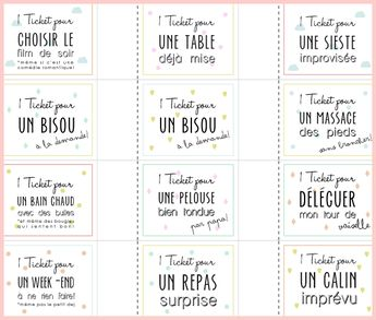 DIY : tickets d'amour