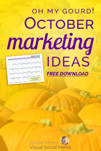 31 Odd October Marketing Ideas to Optimize Your Content!