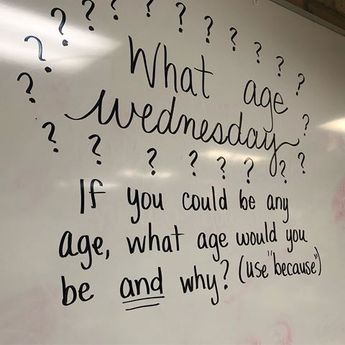 I thought these were pretty funny- oh, to be 9-20 again  #miss5thswhiteboard #iteachfourth #teachersfollowteachers #a_crafty_teacher #teachersofinstagram #iteach4th