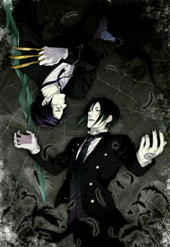 Black Butler (Kuroshitsuji) - Alois Trancy and Claude Faust