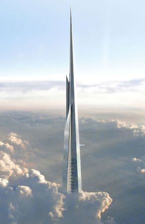 Saudi Arabia now has the money to build the world's tallest tower