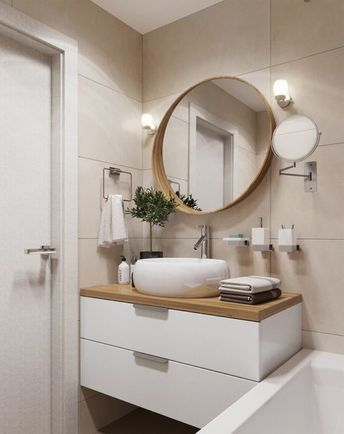 30 Amazing Small Apartment Bathroom Decoration You Can Try