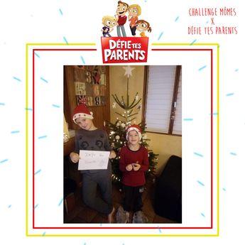 """Les petits lutins de Noël de Ludivine B sont prêts pour le challenge """"Défie Tes Parents"""" !"""