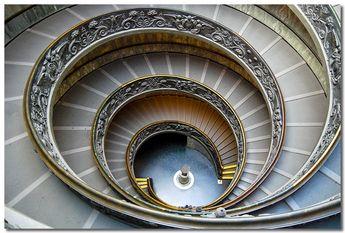 Rome, Vatican Museum, stairway