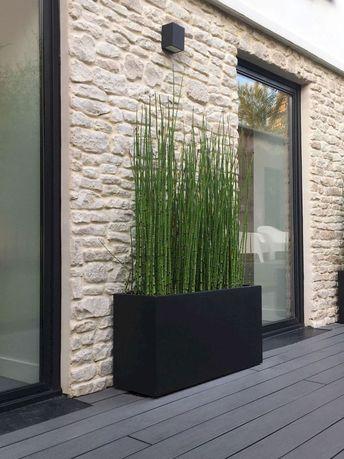 Jardinières préfabriquées modernes incroyablement uniques pour des espaces extérieurs élégants
