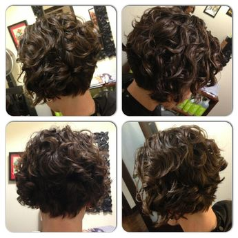 My work. Short, sassy, cute, fun! Embrace your natural curls! ;-) www.curlsbycass.com