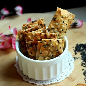 Almond and Seeds Crisps/Brittle