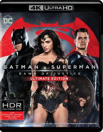 Batman v Superman: Dawn of Justice [Ultimate] [4K Ultra HD Blu-ray/Blu-ray] [2016]