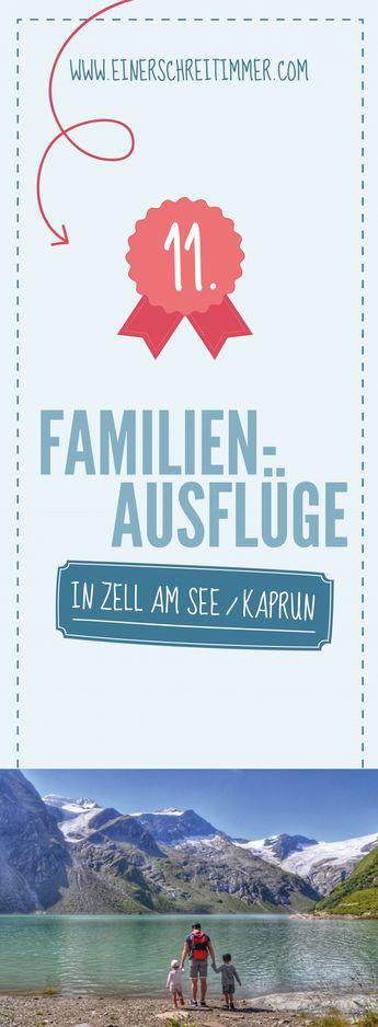 Die TOP 11: Ausflugsziele in Zell am See / Kaprun