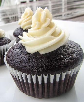 One Bowl Moist Chocolate Cupcakes