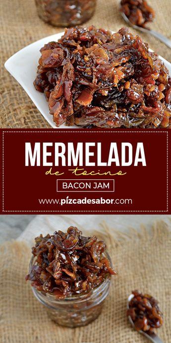 Mermelada de tocino o bacon jam (muy fácil de preparar)
