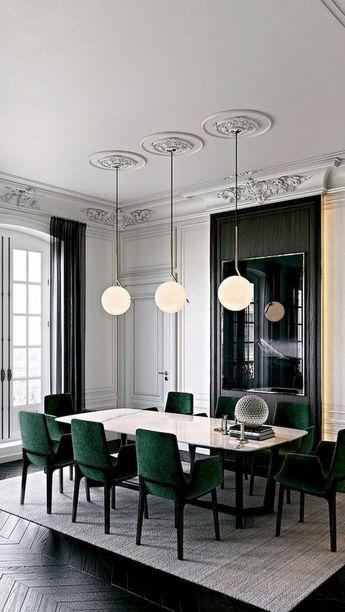 48 Luxury Dining Room Design Ideas