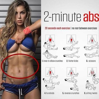 Easy 2 minute ab workout! Tag a friend who'd love this workout 💁🏼 Follow us @firstclassgym for daily workouts!