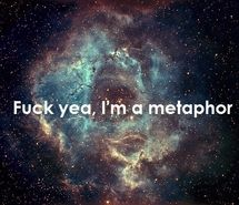 Inspiring picture hipster crap, metaphor, nebula, quote, space, star.
