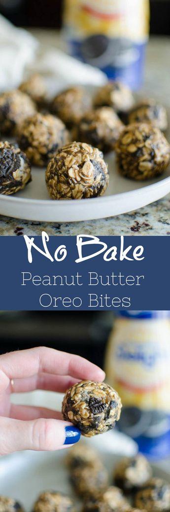 No Bake Peanut Butter OREO Bites