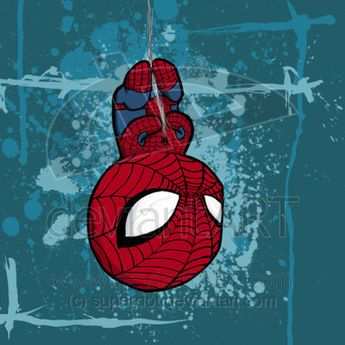 superhero's by lily walker, via Behance