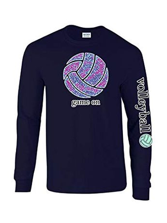 e28a8bbb2a Victory Sportswear - My Happy Place Volleyball L S Tee