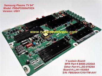 Bn96-28894a  t-con board  samsung un65eh6000fxza yh02  test