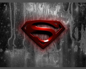 Logo comics superman wallpaper.