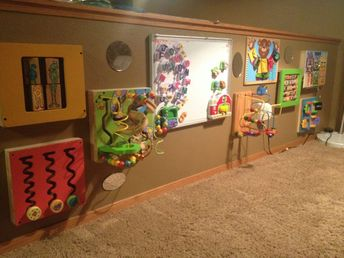 Sensory Wall Ideas with Additional Sensory Wall A Fun toddler Exploration