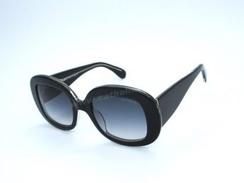 362862ea69 New 2014 New Chanel A40990 Black Grey Logo Sunglasses Discount For Wholesale
