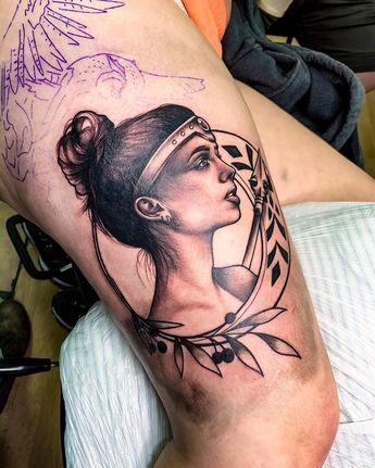 3 years has taught me so much... . . . #keepgoing #practice #follow #share #love #instagood #athena #mythology #ink #inked #inkedmag #tat #tatz #tattoo #tattoos #tattooideas #portrait #blackandwhite
