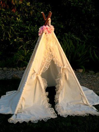 lace teepee tent photo prop by SugarShacksTeepee on Etsy, $90.00 #teepeetentglamping