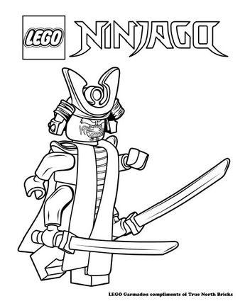 Coloring Page – Ninja Lloyd