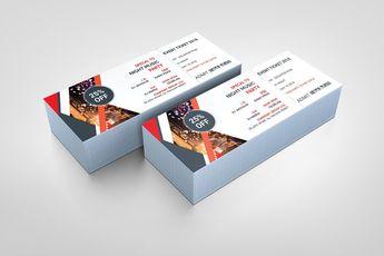 PSD Classy Ticket Template 002847 - Template Catalog