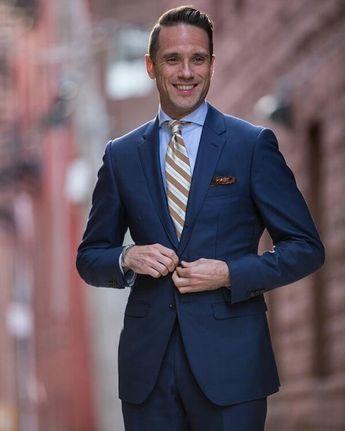 The mid blue suit. @hespokestyle #classygents #gentslifestyle #dressedtoimpress #bestoftheday #menoftaste