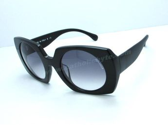 67eeeb3047 New Chanel A40989 Black Frame Grey Gradient Lens Sunglasses For Wholesale  For Wholesale