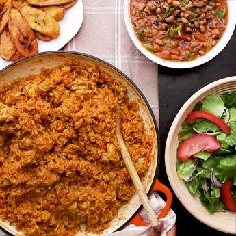 Kiano's Chicken Jollof Rice