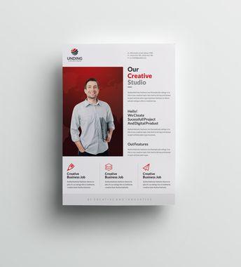 Chimera Elegant Premium Business Flyer Template - Graphic Templates
